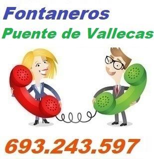 Telefono de la empresa fontaneros Puente de Vallecas